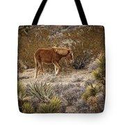 Wild Horse At Cold Creek Tote Bag