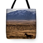 Wild Horse On The Run Tote Bag