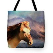 Wild Horse - Painting Tote Bag