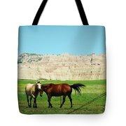Wild Horses Of South Dakota Tote Bag