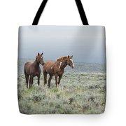 Wild Horses - Steens 1 Rw Tote Bag