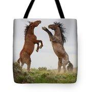 Wild Horse Challenge Tote Bag