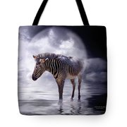Wild In The Moonlight Tote Bag