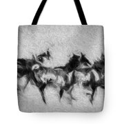 Wild In The Storm Tote Bag