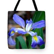 Wild Iris 3 Tote Bag