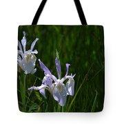 Wild Iris 4 Tote Bag