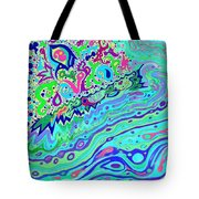 Wild Island 1 And 2 Combined Tote Bag