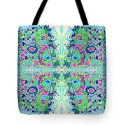 Wild Island Creation 1 Fractal B Tote Bag