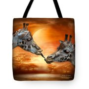 Wild Kisses Tote Bag