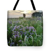 Wild Mints And Foxtail Grasses At Glacial Park Tote Bag