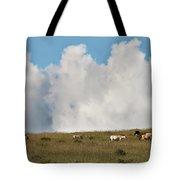 Wild Mongolian Horses Tote Bag