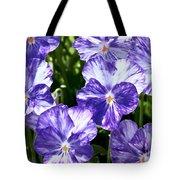 Wild Mountain Flowers Tote Bag