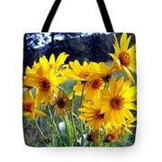 Wild Okanagan Sunflowers Tote Bag