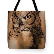 Wild Owl Eyes Tote Bag