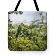 Wild Parrot Tote Bag