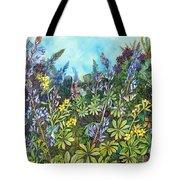Wild Prairie Lupine Tote Bag