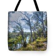 River Bush Track Tote Bag