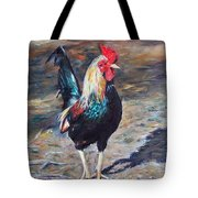 Wild Rooster Tote Bag