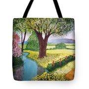 Wild Rose Creek Tote Bag