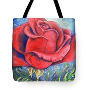 Wild Rose Two Tote Bag