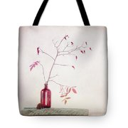Wild Rosehips In A Bottle Tote Bag