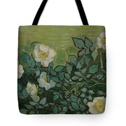 Wild Roses Saint-remy-de-provence, May-june 1889 Vincent Van Gogh 1853 - 1890 Tote Bag