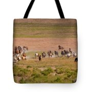 Wild Run Tote Bag