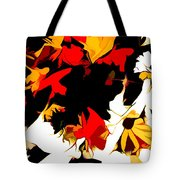 Wild Side Of A Flower Tote Bag