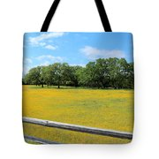 Wild Side Of The Fence Tote Bag