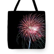 Wild Sky Flower Tote Bag
