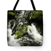 Wild Stream Of Green Moss Tote Bag