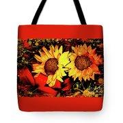 Wild Sunflowers Tote Bag