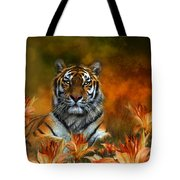 Wild Tigers Tote Bag