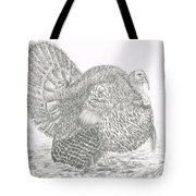 Wild Tom Turkey Tote Bag