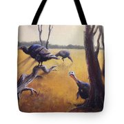 Wild Turkeys Tote Bag