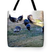 Wild Turkeys. Tote Bag