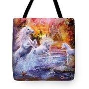 Wild Unicorns Tote Bag