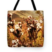 Wild West Mountain View Tote Bag