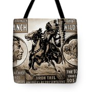 Wild West Poster Tote Bag