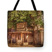 Wild West Sheriff Office Tote Bag