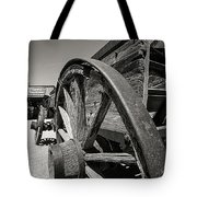 Wild West Wagon Tote Bag