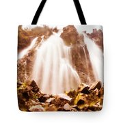 Wild West Water Fall Tote Bag