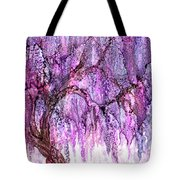 Wild Wisteria Tote Bag