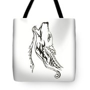 Wild Wolf Tote Bag