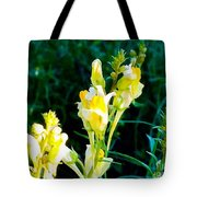 Wild Yellow Flowers Tote Bag