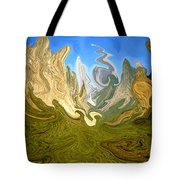 Wild Yosemite - Abstract Modern Art Tote Bag