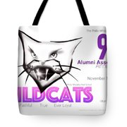 Wildcat 90th Anniversary Test Card Tote Bag