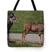 Wildebeest I Tote Bag