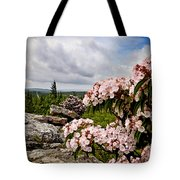 Wilderness Flowers Tote Bag