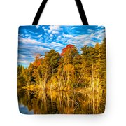 Wilderness Pond - Paint Tote Bag